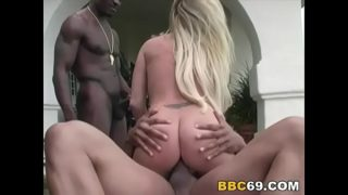 Curvy Taylor Takes Bbc Group Fuck